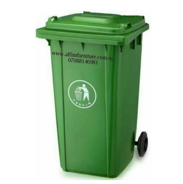 green-recycle-bin
