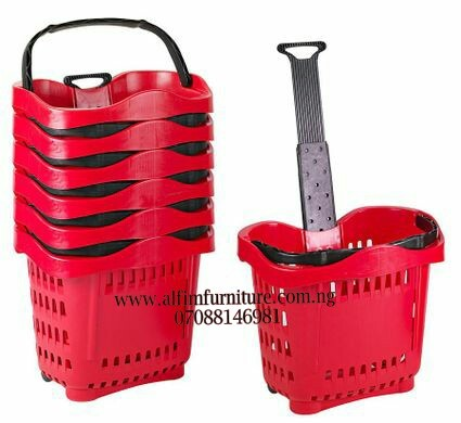 plastic shopping basket trolley plastic shopping basket with wheels