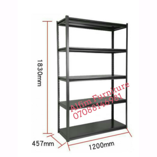 Alfim furniture boltless rivet steel shelves