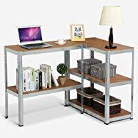 Boltless steel shelving rack with 2 step adjustable shelves