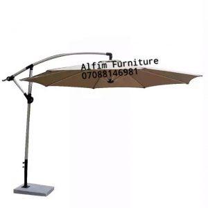 Outdoor Offset Cantilever Beach Umbrella Parasol