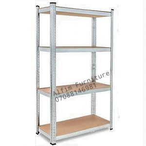 4 layer adjustable steel shelf
