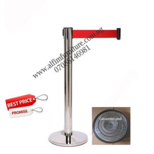 PREMIER™ Retractable Belt Crowd Control Barrier Stanchion