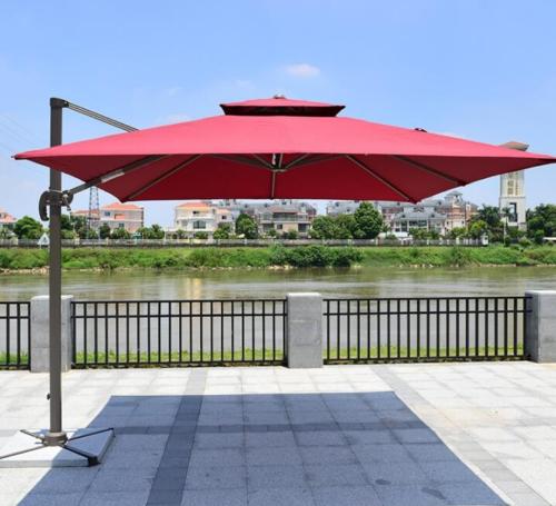 Outdoor patio rome umbrella