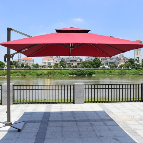 Outdoor patio rome umbrella