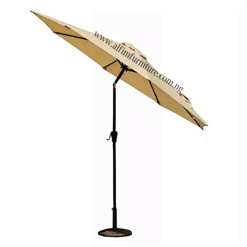umbrella parasol with tilt